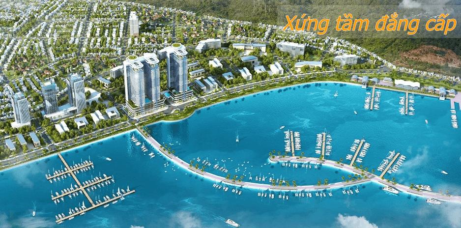Phối cảnh dự án condotel 5 sao tại Nha Trang