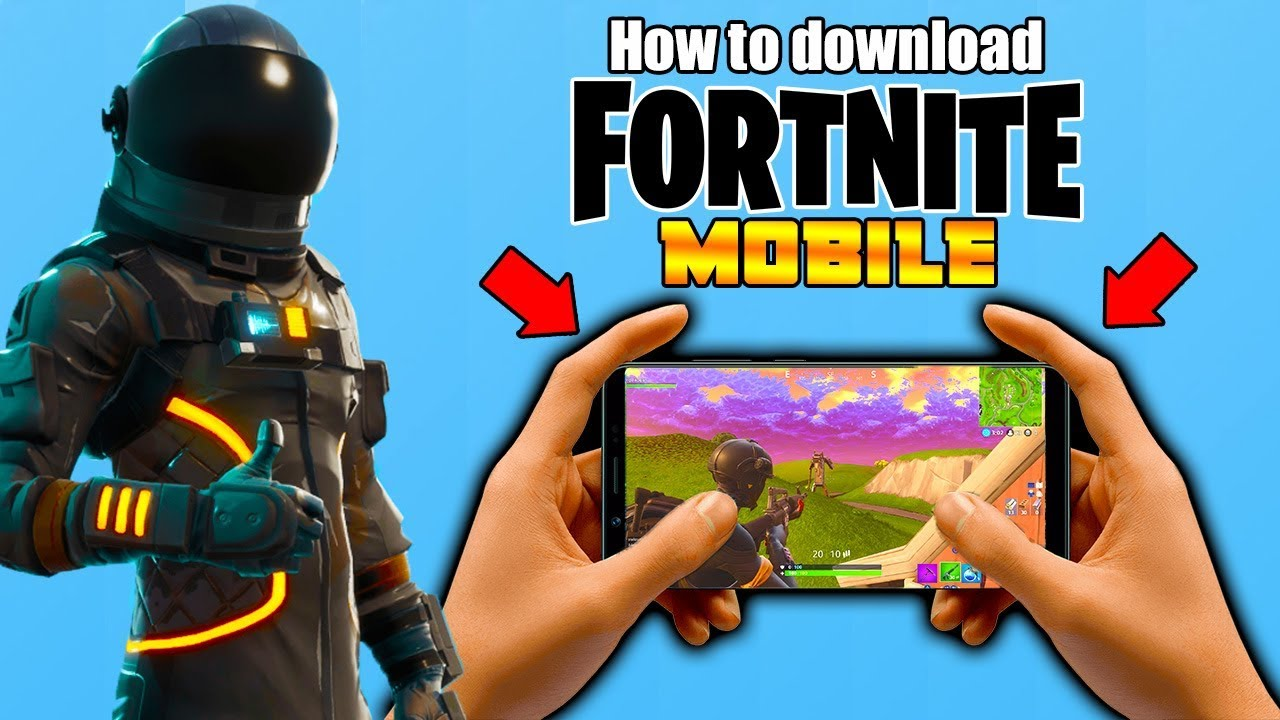 Epic game fortnite download android