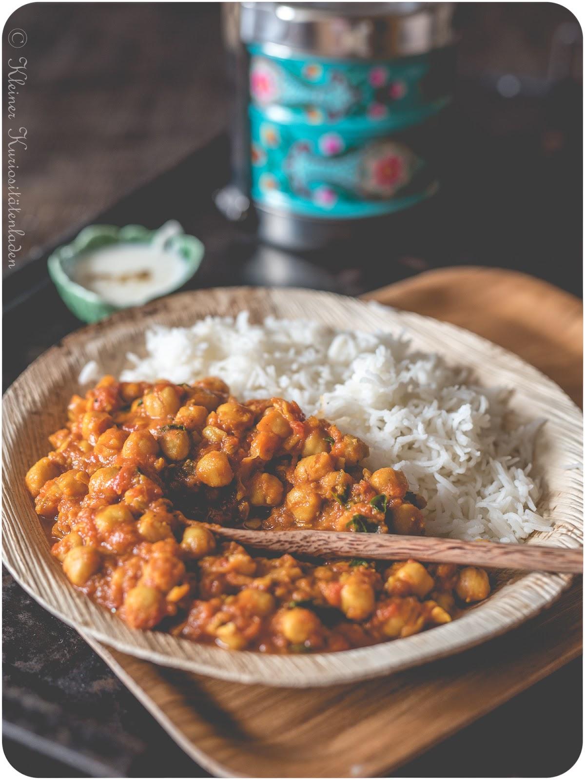 Chana Masala | Kichererbsencurry