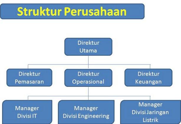 Struktur Eksternal Internal di Organisasi dan Manajemen Koperasi