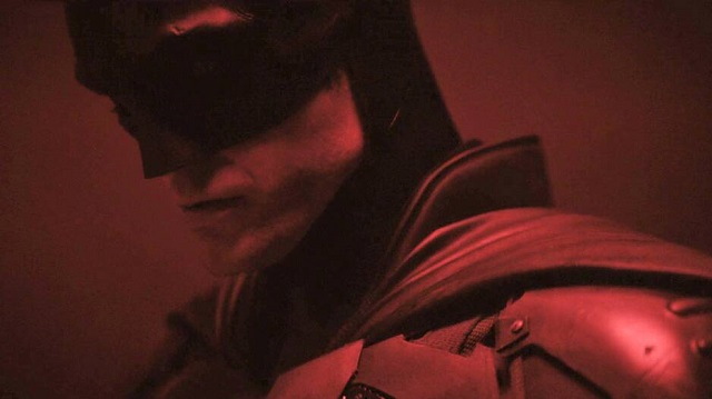 Robert Pattinson vestido de Batman/Reprodução