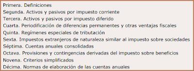 Proyecto de Resolución del ICAC sobre contabilización del Impuesto sobre beneficios