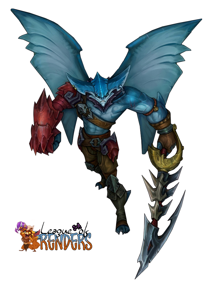 RENDER Sea Hunter Aatrox Concept