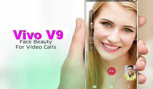 Video Call di HP Vivo V9 dengan Fitur Face Beauty