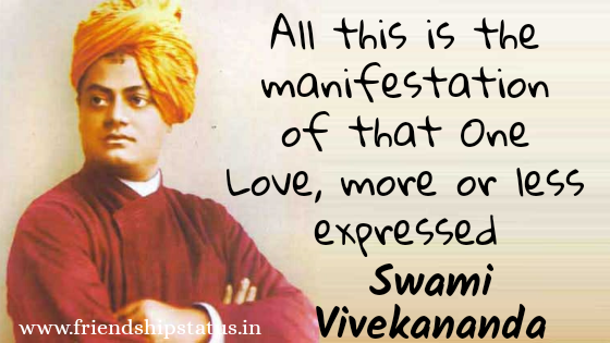 Best 20 Swami Vivekananda Quotes on Love To Feel Self Love