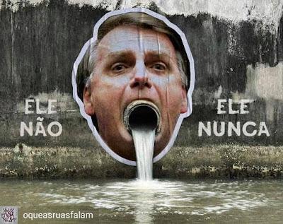 Bolsonaro boca de esgoto