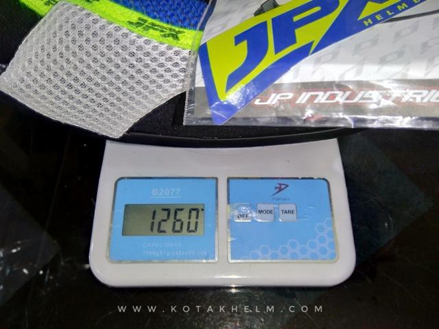 berat jpx fox 1 1260 gram