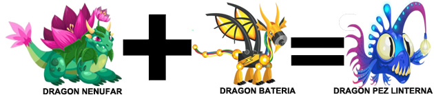 como sacar el dragon pez linterna en dragon city combinacion 2