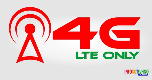 Trik cara mengunci jaringan 4G (LTE Only) pada Android Terbaru