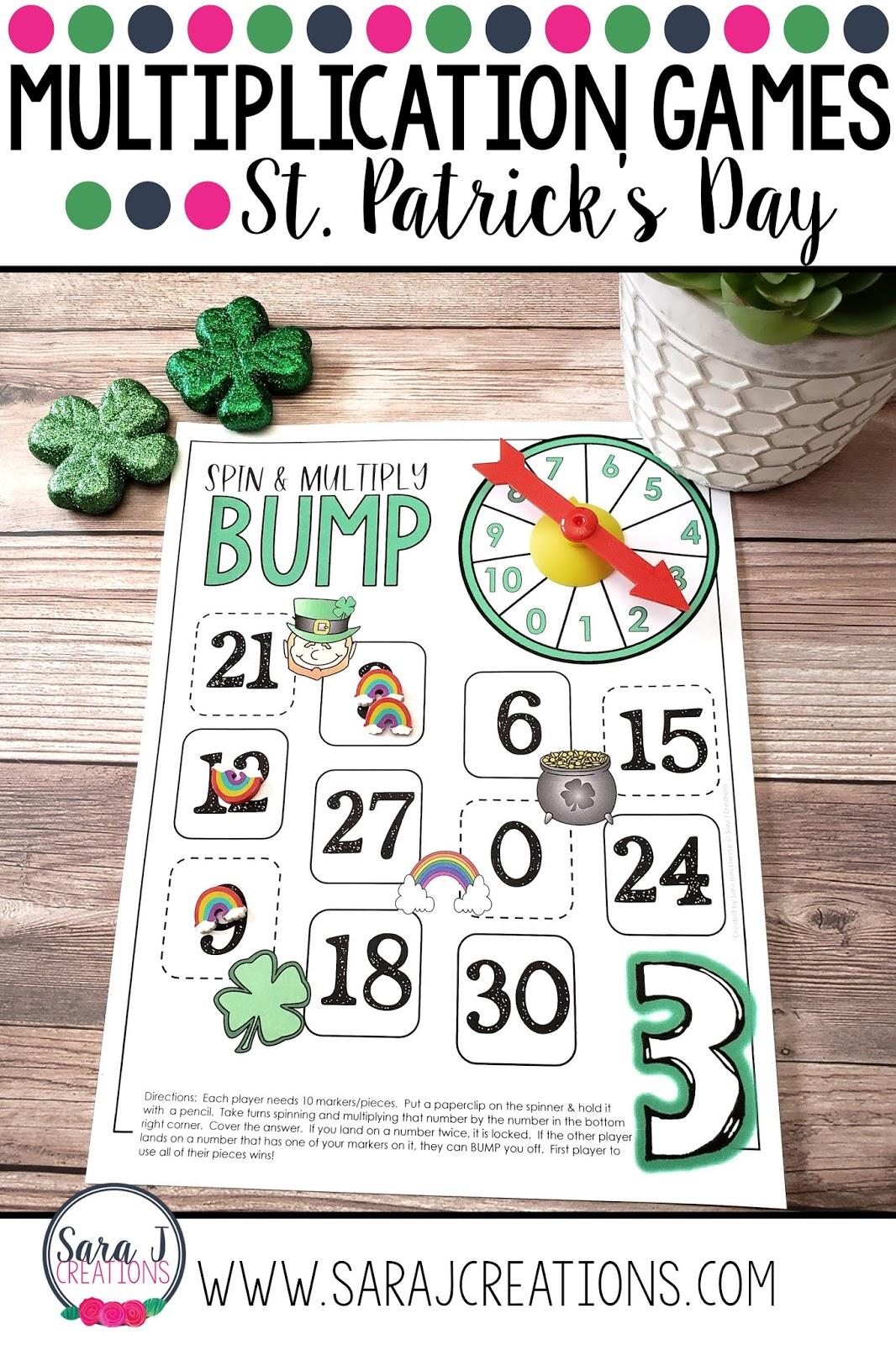 Practice multiplication facts with these fun math games for kids. Perfect for second, third, or fourth grade as students work on fact fluency.