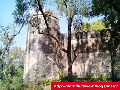 Morni Hills Fort : Story of Old Fort in Morni Hills