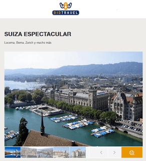 Suiza desde 1.433€ todo incluido en Bidtravel