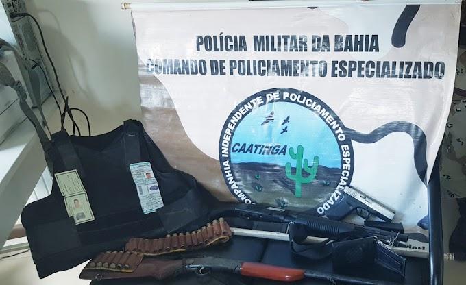 Criminoso que se dizia policial é preso no município de Uauá