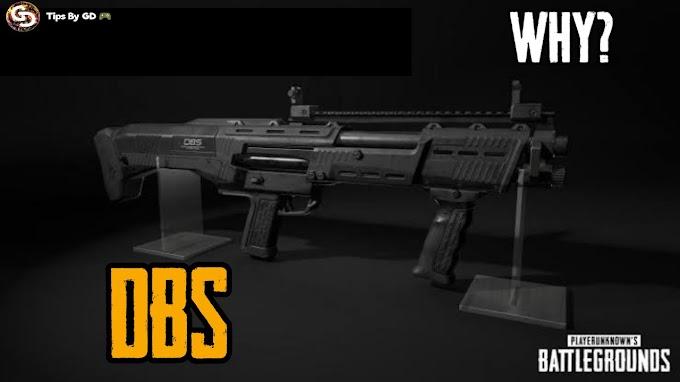 PUBG - Why we should use the brand new Shotgun DBS in pubg?
