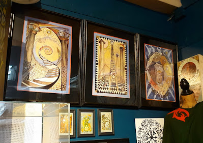 Buckland Museum of Witchcraft and Magick. Cleveland, Ohio. Masonic Tracing Boards. Lady Frieda Harris. Occult