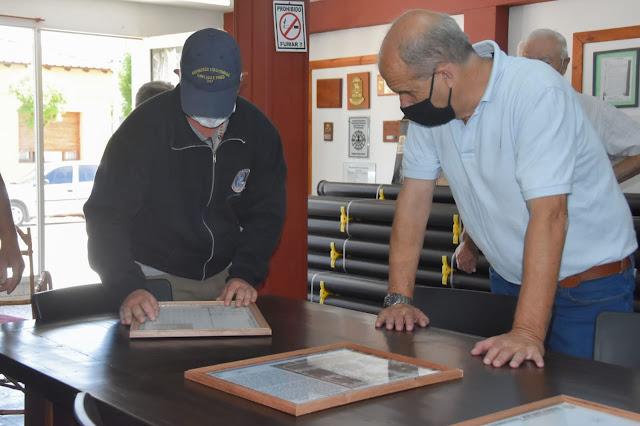 Pablo Zurro entregó subsidios para obras en Bomberos Voluntarios y Agrario Karting Club en Juan José Paso