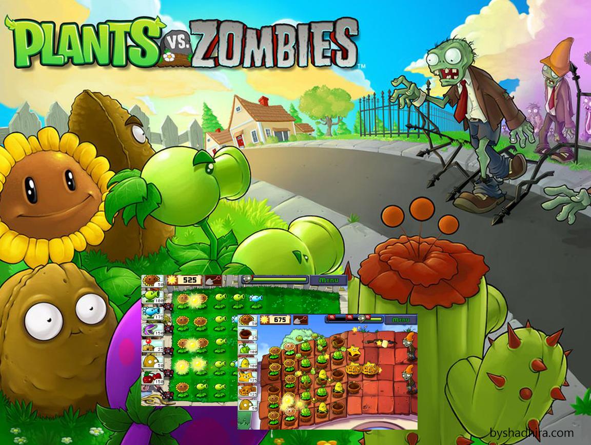 plant vs zombie game