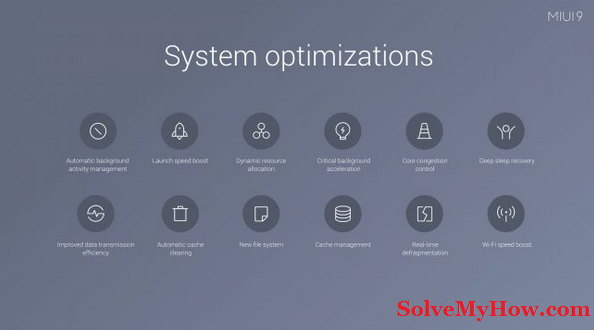 system optimization miui 9 update