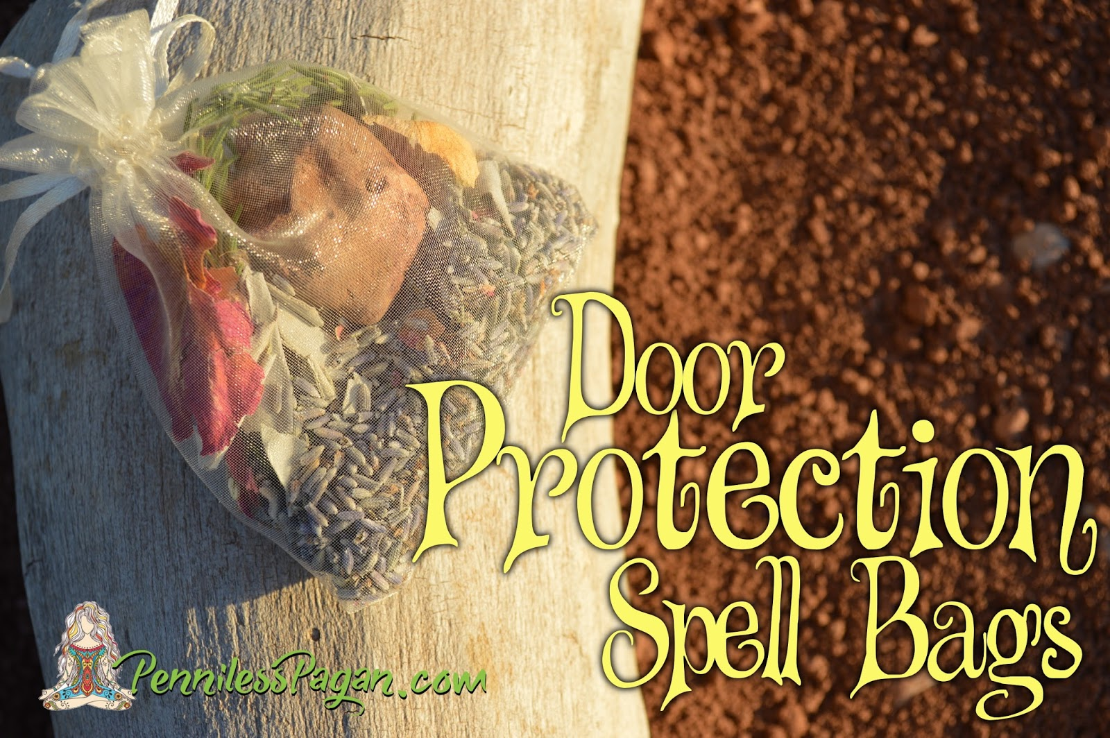Penniless Pagan: Door Protection Spell Bags