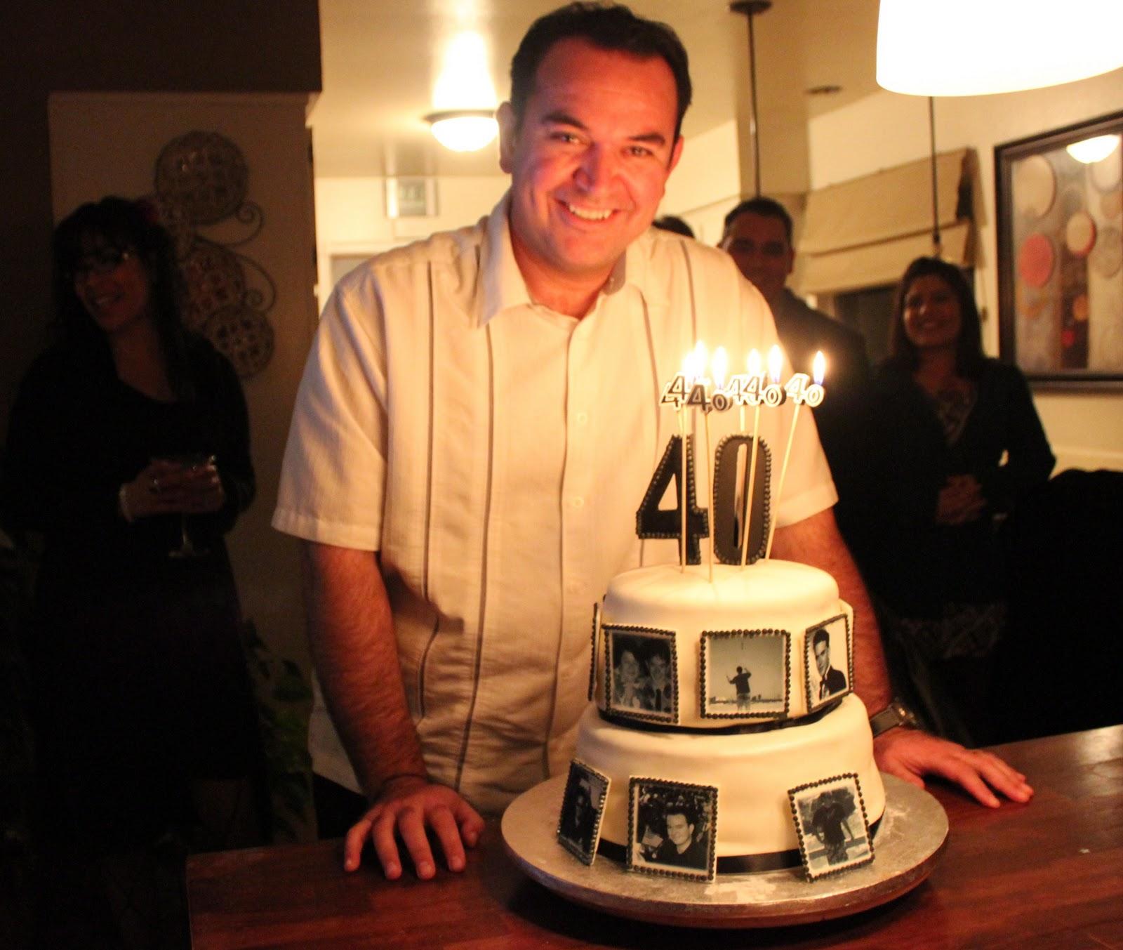 Husband 40th Birthday Cake Cake Creations By Trish Jerusalem House