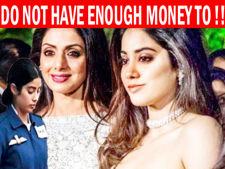 DO Not Have Earn Enough Money To wear New Clothes | Bollywood Legende's Sridevi's Daughter Jhanvi Kapoor Latest Revelation  India : Bollywood legend Sridevi's elder daughter namely Ms. Jhanvi Kapoor recently told in a local show on Indian website an India India, Jhanvi Kapoor directly reveal that she never feel embarrassed in order to wear of same clothes again & again because at presently she do not have earn enough money to wear new clothes.