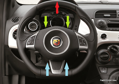 Fiat 500 Abarth Steering Column