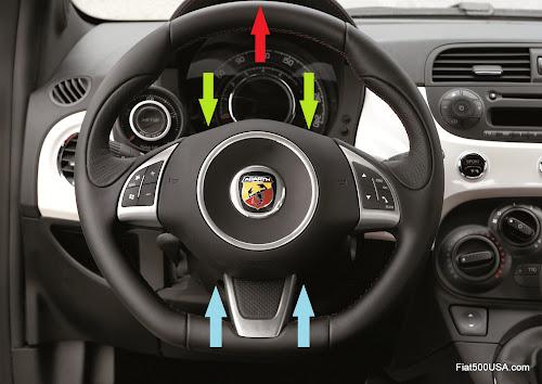 Fiat 500 Abarth Steering Column