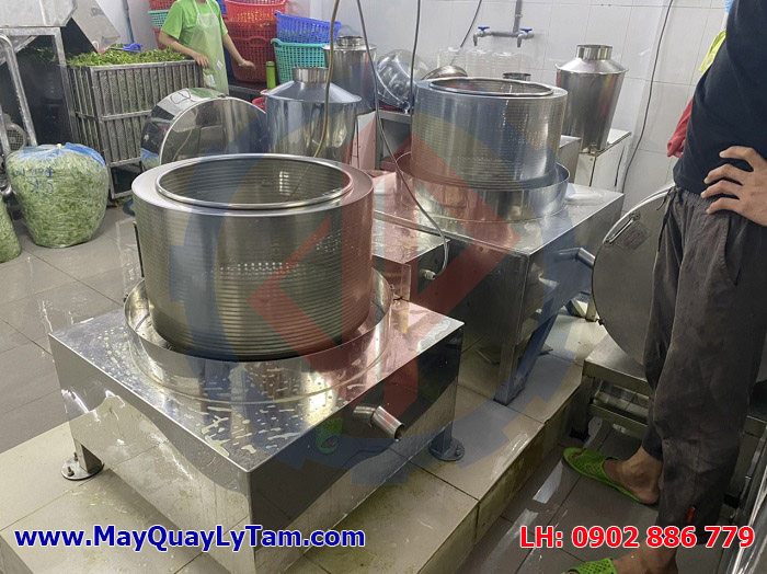 Cân bằng động tuyệt vời của máy vắt ly tâm inox Vĩnh Phát đem lại sự an toàn cao nhất cho bạn