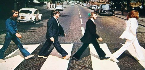 The Beatles recorded at which famous studio in London?