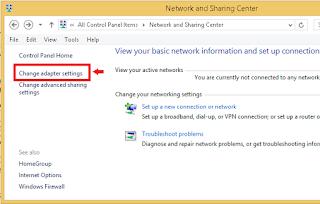 Cara Merubah Password Wifi yang tersimpan di Windows 8