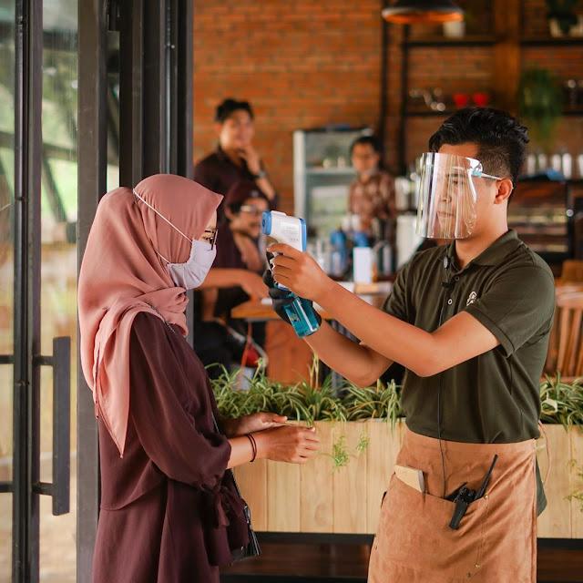 Fasilitas Taman Langit Cafe
