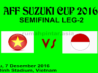 Indonesia vs Vietnam AFF 2016 : Skor Akhir 2:2 (4:3)