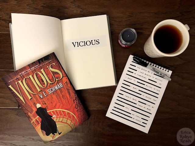 Book Review of Vicious by V.E. Schwab