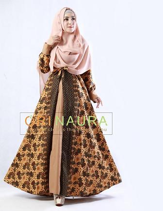 Cara Memilih Gamis Batik Wanita Muslimah