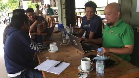 Membahas Rencana Kegiatan Perdana Komunitas Blogger Kubu Raya