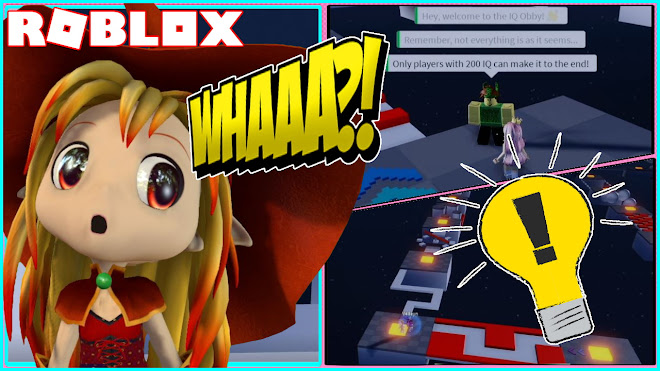 lol ad try my obby roblox Chloe Tuber Roblox Iq Obby Do I Have The Iq To Complete This Obby Part 1