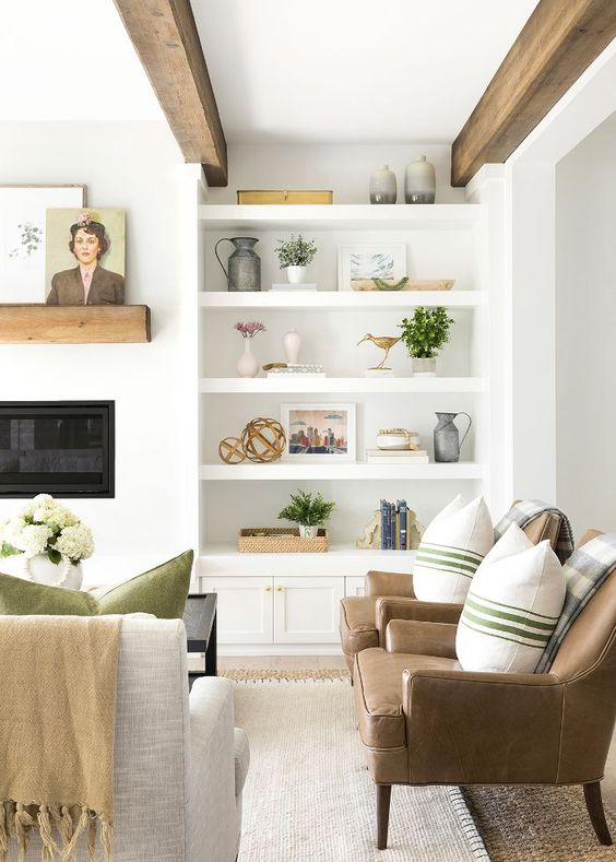 Simple And Smart Shelves Decoration For, Decoration For Living Room