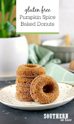 Gluten Free Pumpkin Spice Baked Donuts Recipe