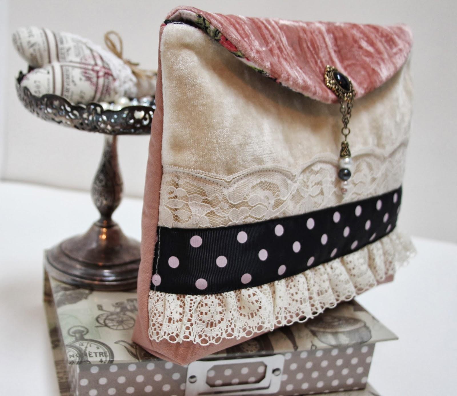 cosmetichka a-la-vintage,cosmetichka svoimi rukami