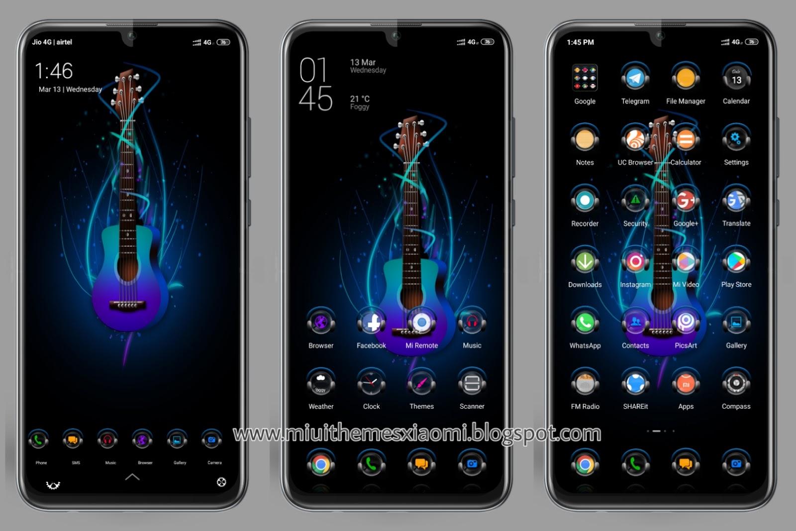 Symphony V10 MIUI Theme Download For Xiaomi Mobile    MIUI