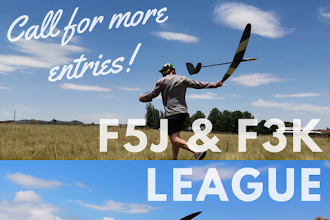 Call for entries - F3K and F5J League on 10 November 2019