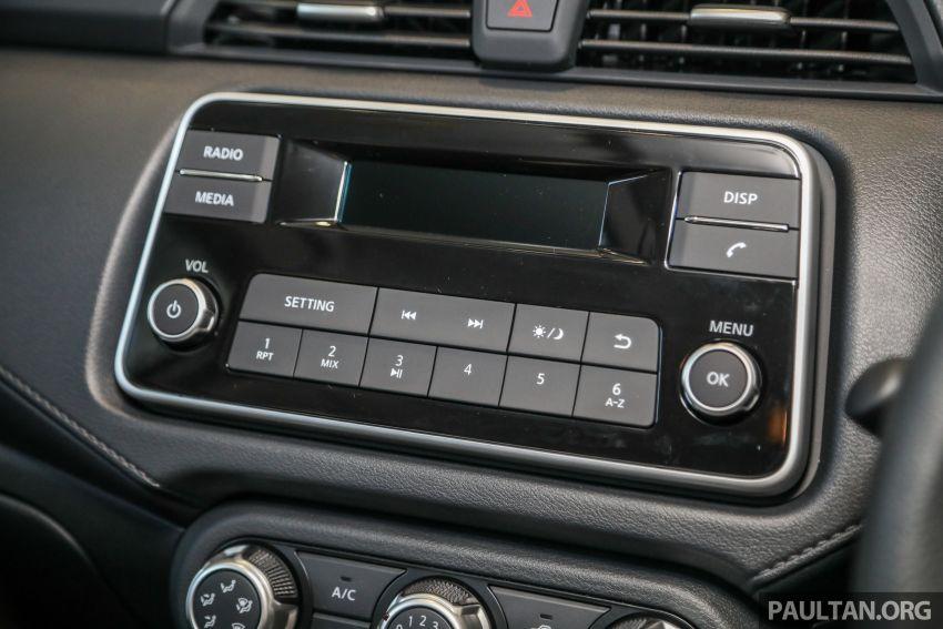 Ruang Dalaman Nissan Almera Turbo 2020 Baharu