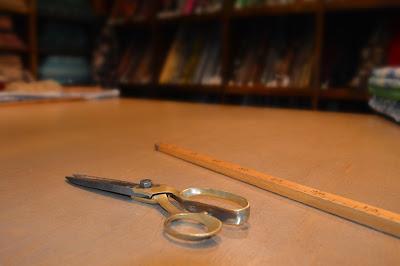 Villisilkki metrimitta ja sakset