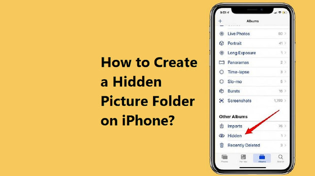 hidden picture folder on iPhone