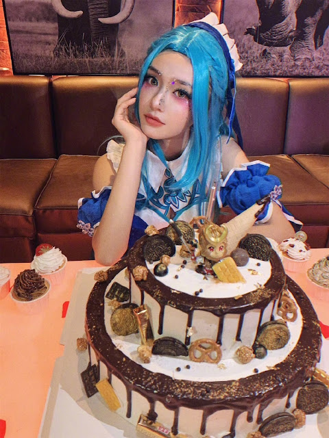 jelly lin yun april 16 birthday