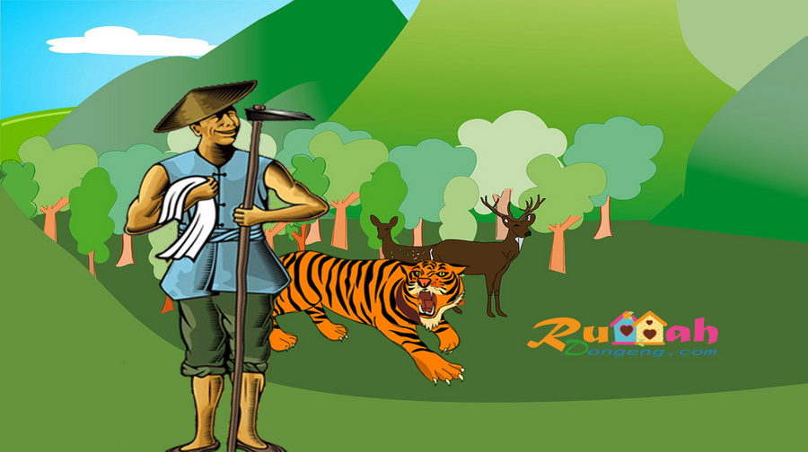 Dongeng Petani Dan Anak Harimau