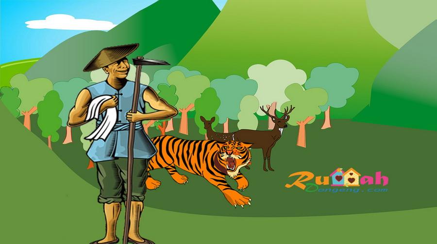 Kisah Petani Dan Anak Harimau