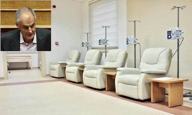 """Ερωτηση Γ.Γκιόλα για """"Δημιουργία Μονάδας Χημειοθεραπείας στο Γενικό Νοσοκομείο Αργολίδας"""""""