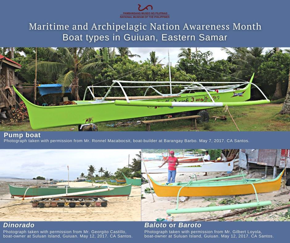 boat types in Guiuan, Eastern Samar
