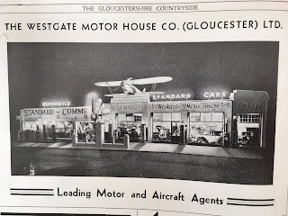 Westgate Garage, Gloucester_advert from Gloucestshire Countryside